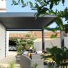 Pergola bioclimatique Lounge perpendiculaire en aluminium - Pérgolas bioclimáticas, persianas y toldos a medida - Alsol España