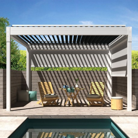Pergola bioclimatique Architect autoportée en aluminium - Pérgolas Bioclimáticas, Toldos y Persianas - Alsol-espana.es