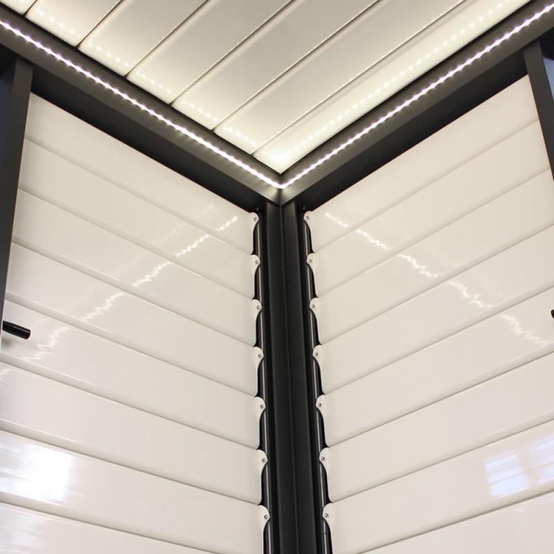 Celos a parasol a medida para p rgola bioclim tica - Celosia de aluminio ...