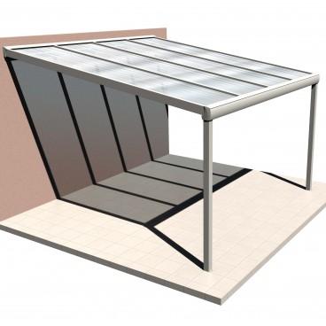 Presupuesto en línea pérgola de techo de policarbonato Light
